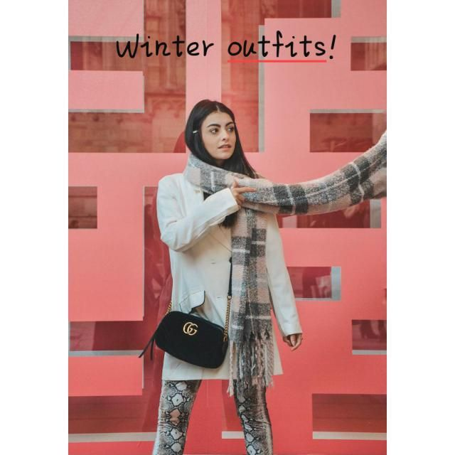 ♡Winter outfits!♡ ☆It's hard to resist the appeal of winter white. It's fresh, clean, and flattering, and is…