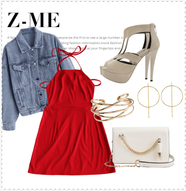 Love this Red outfit? Buy this on Zaful