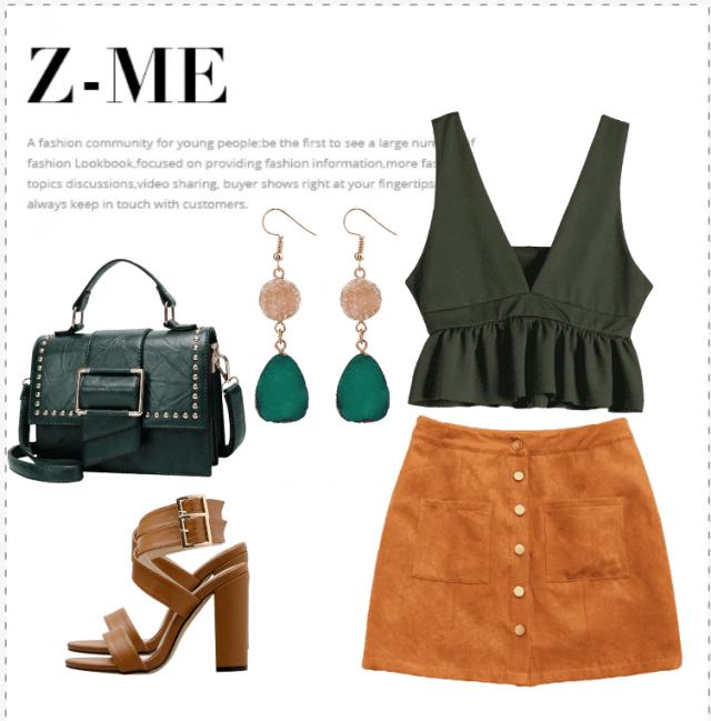 &Orange  Buy this elegant look on Zaful! Be Georgeous!