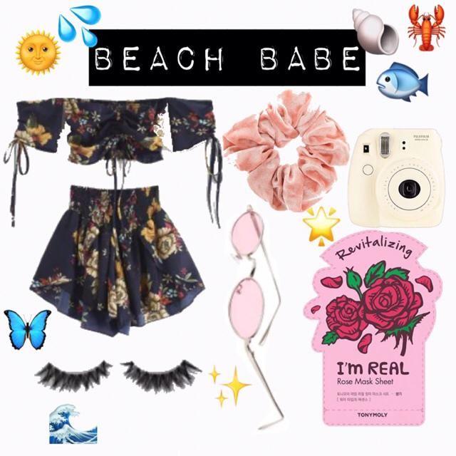 Beach babe ✨