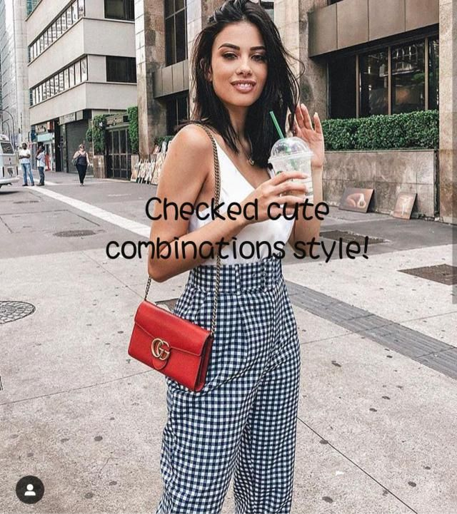 ☆Checked cute combinations style!☆ ~It's time to find the latest and trendy styles of plaid pants! In today's …