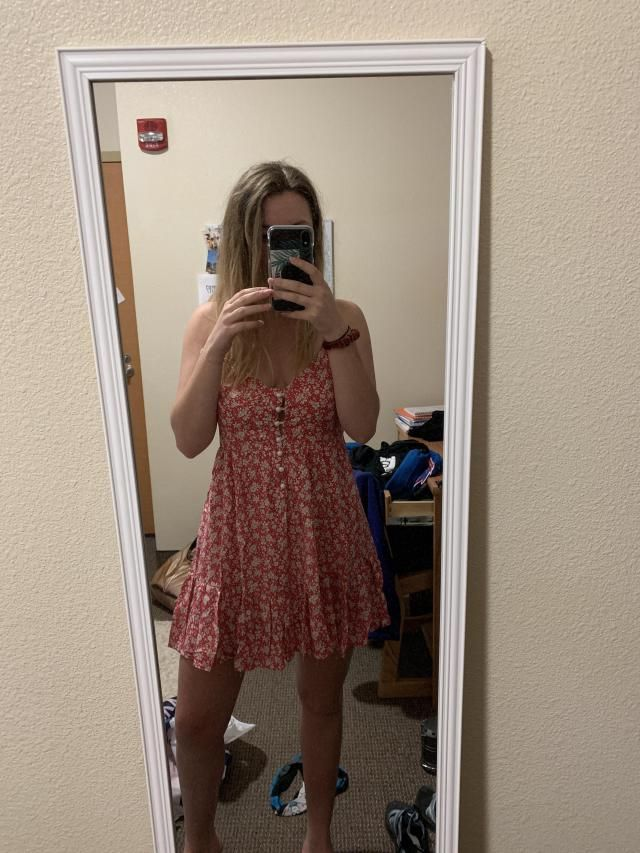 The fabric is light and comfortable and it fits perfectly! It's just the right length for a sundress. I like that it b…