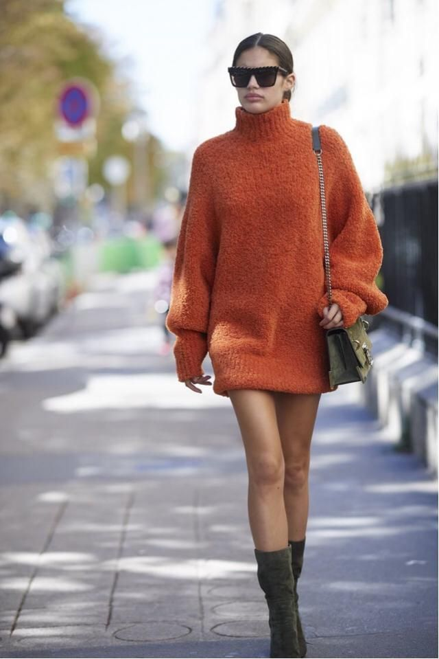 &Orange  Cool and funky outfit!! :)
