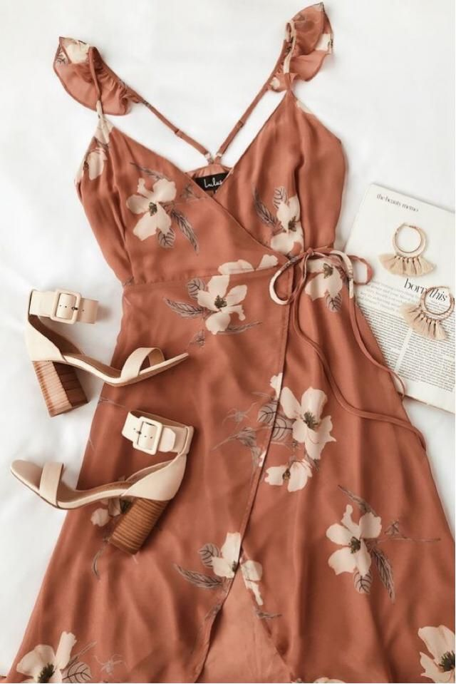 Lovely printed dress :)