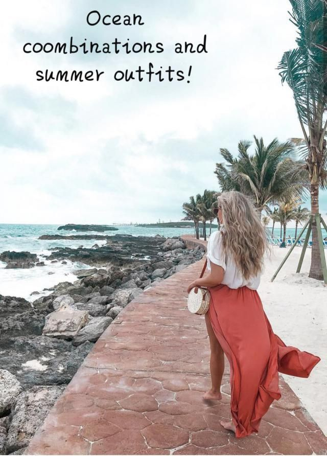 "☆Ocean combinations and summer outfits!☆ ▪Looking for some good and ""easy-to-do"" casual outfits ideas? Well… …"