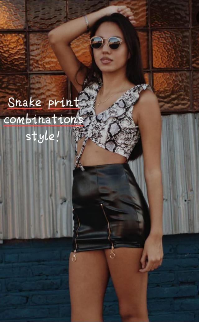 ♤Snake print combinations style!♤ ▪Shop the latest women's fashion at New Look, with stylish women's clothing…