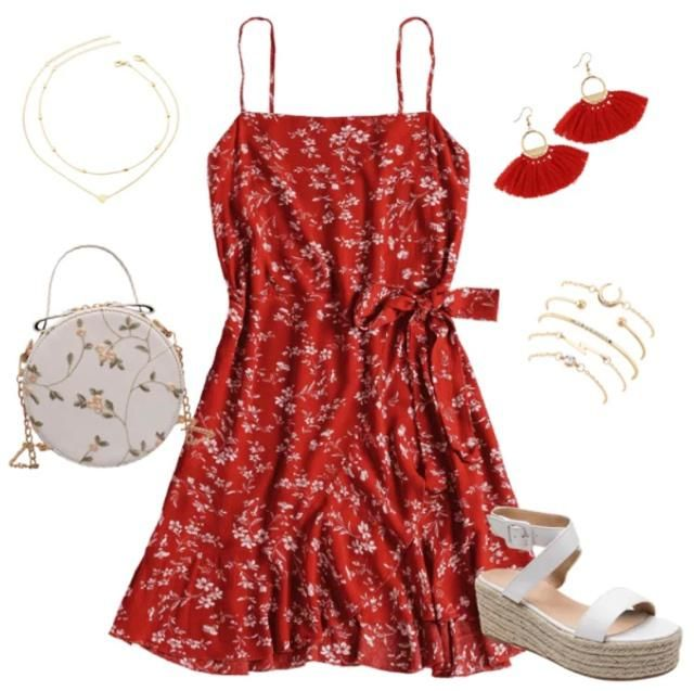 Cute & casual date night or beach outfit ❤️