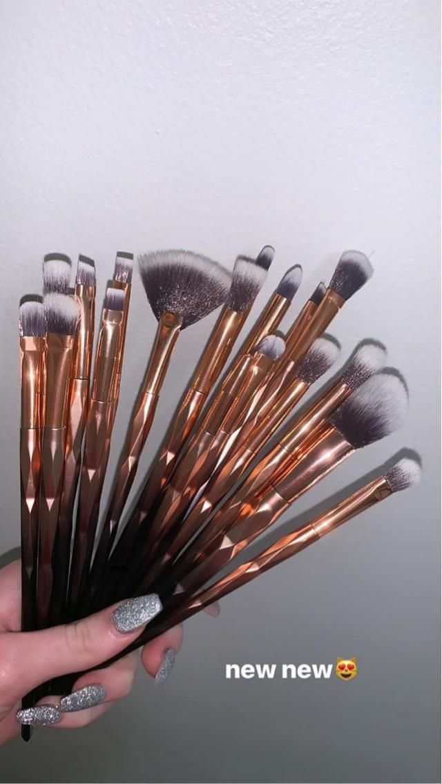 these brushes blend like a dream