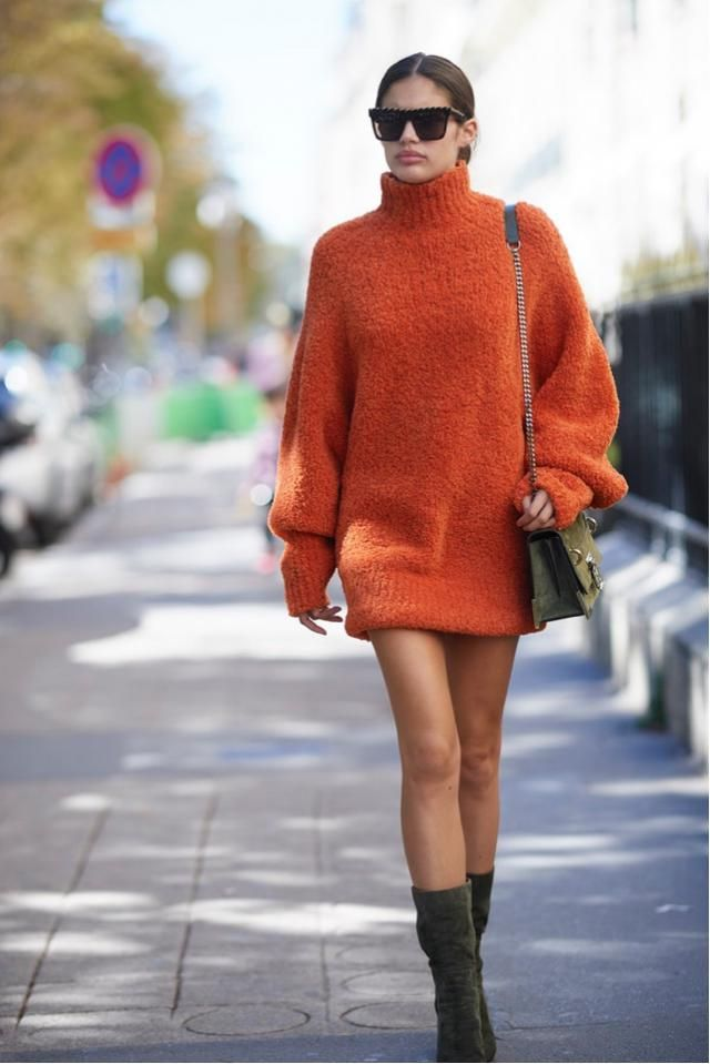 &Orange    Sara Sampaio during Paris Fashion Week