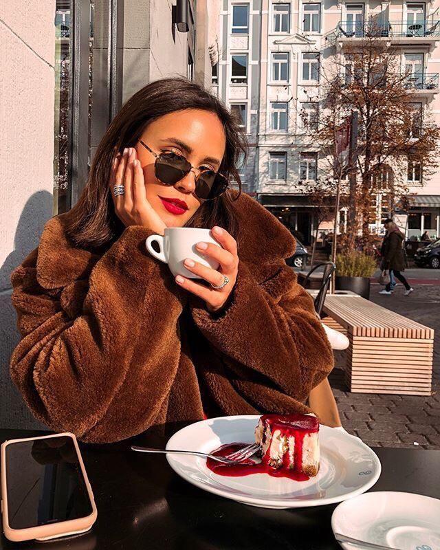 I always love dessert and coffee