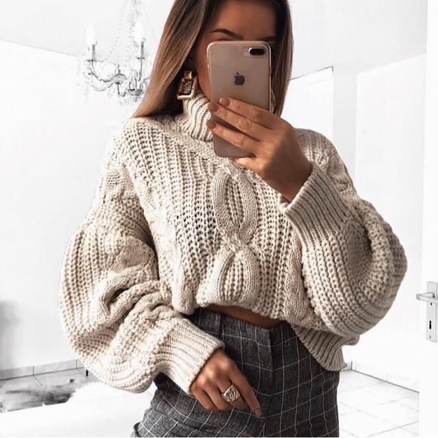 It's always be a nice day with comfortable sweater