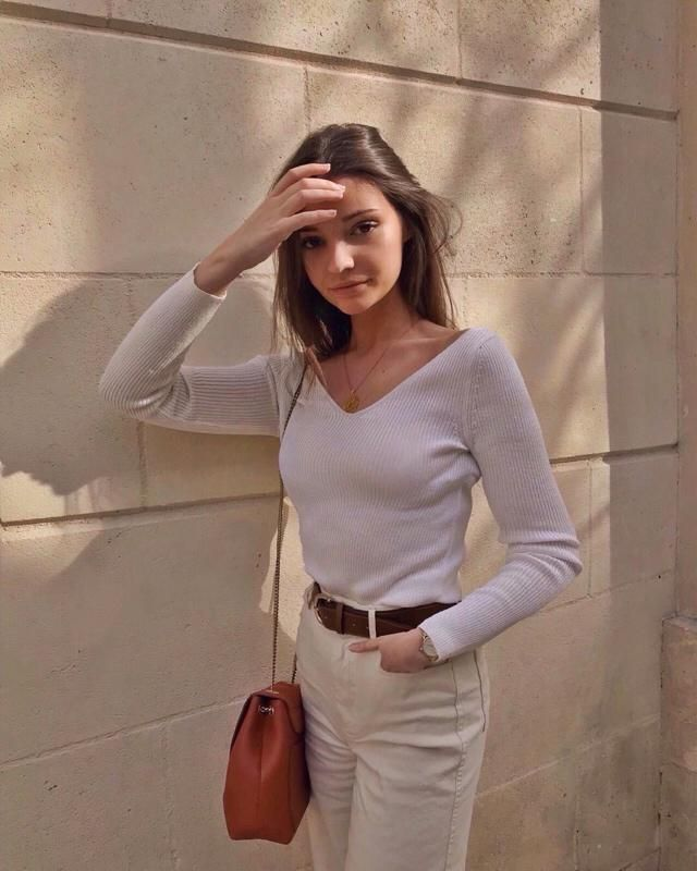 I love white colour and wearing all white is my favourite
