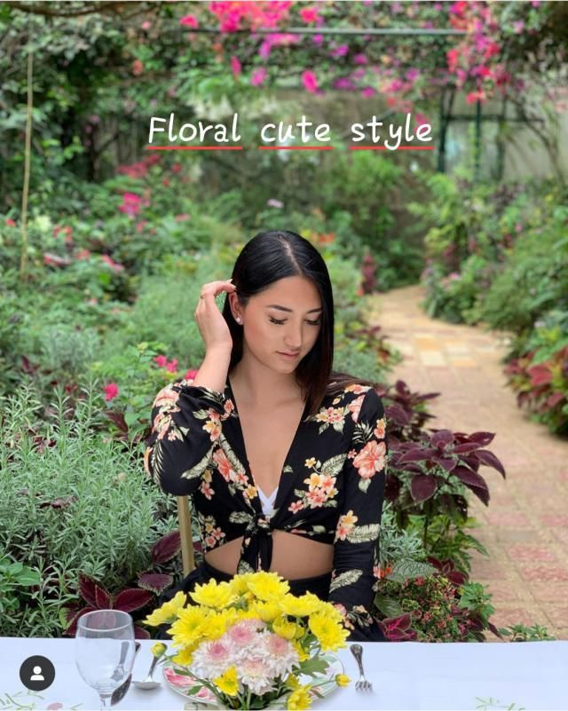 Floral cute style. ▪Dressesthat feature flowers andfloralpatterns are often our spring and summer staples. ...…