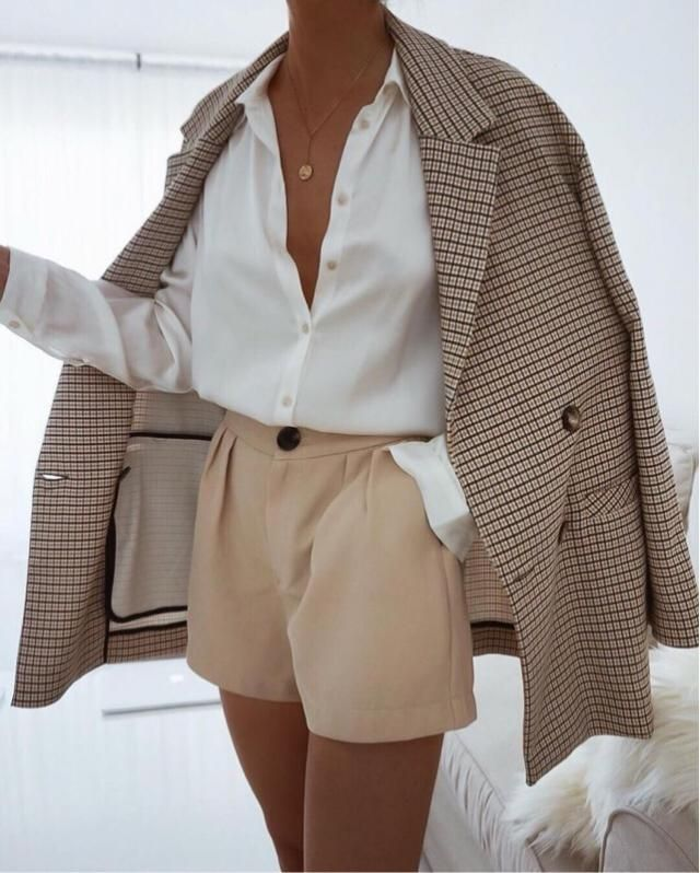 Classy is my middle name! Love a good quality blazer and white classy shirt! Never goes out of style !