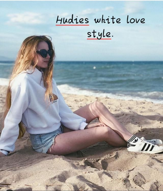 Hufies white love style! ▪Since I love clothes but don't closely follow fashion news, trends tend to creep up on m…