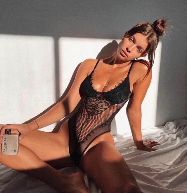 Golden hour with the favourite lingerie