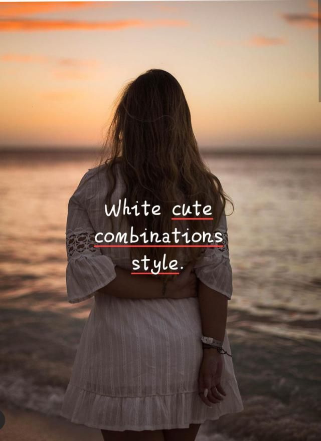 White cute combinations style. ▪This time I want to talk about my favorite trend called white on white look. We are…