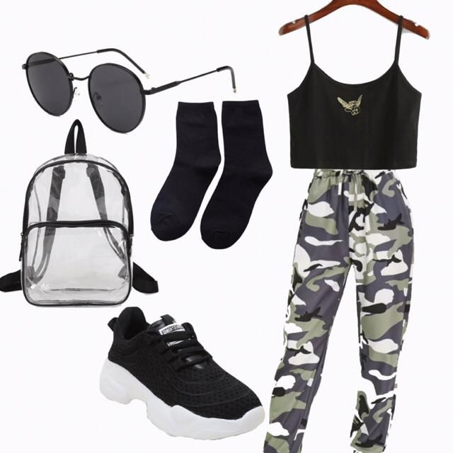 Cargo pants outfit