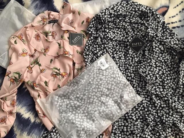 In love with my new zaful dress and blouse.