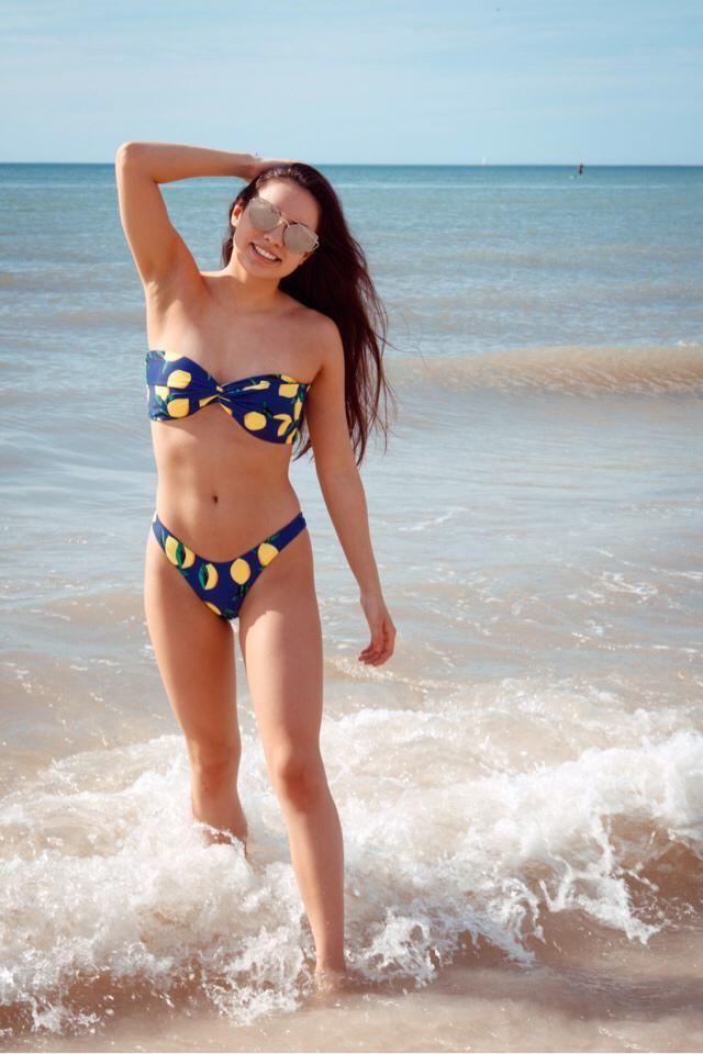 all you need in life is a beach and a cute bikini from zaful :))