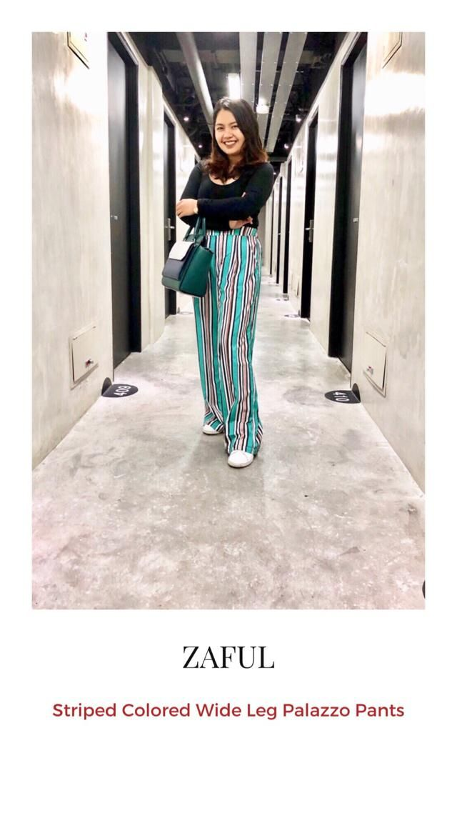 Palazzo pants are known for women's trousers with loose and wide leg that flares out from the waist. The feels of wear…