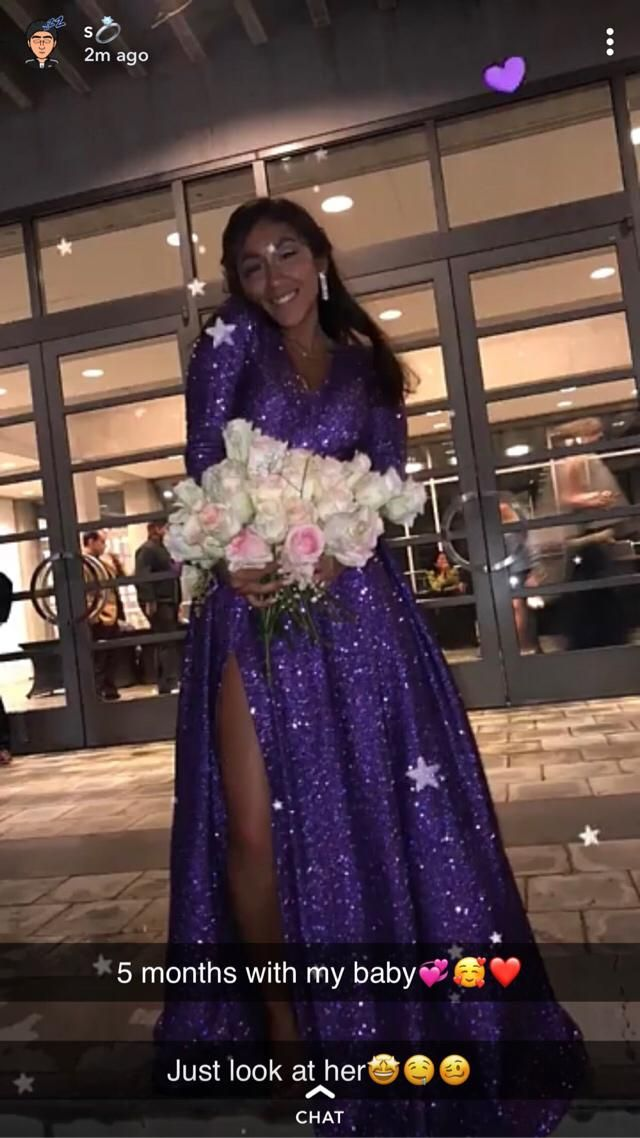 This is not the best picture but this is one of the only prom pictures I have :((
