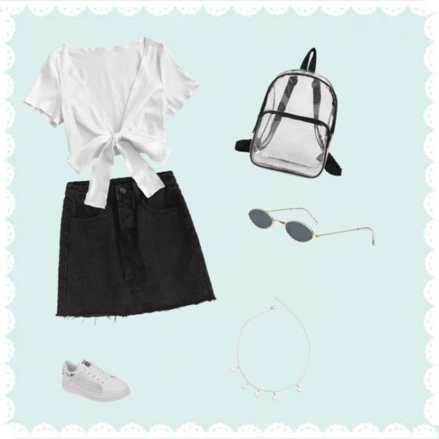 &White