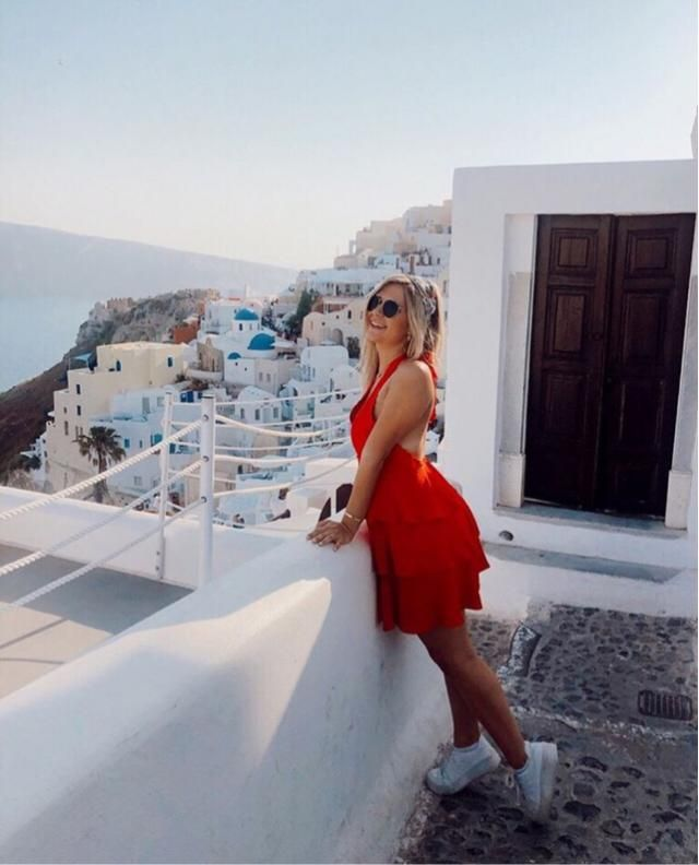 Zaful in Greece!! Wore this cute outfit on my recent trip to Athens a few months ago! Style tip! Make a dress …
