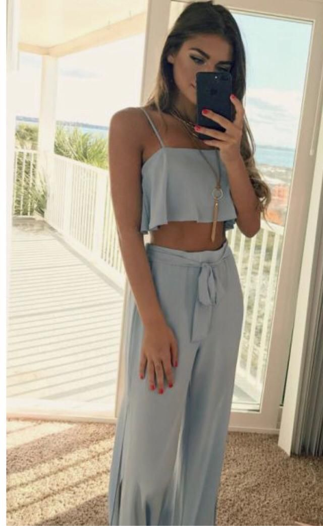 Perfect beach party outfit