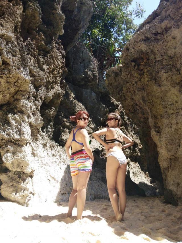 last summer. Beach baby!