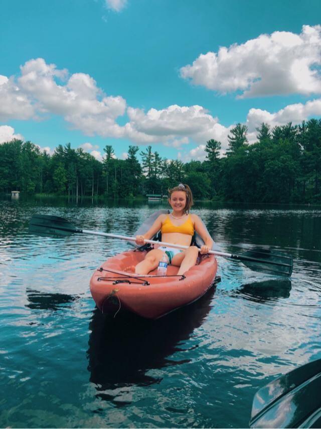kayaking is fun :)