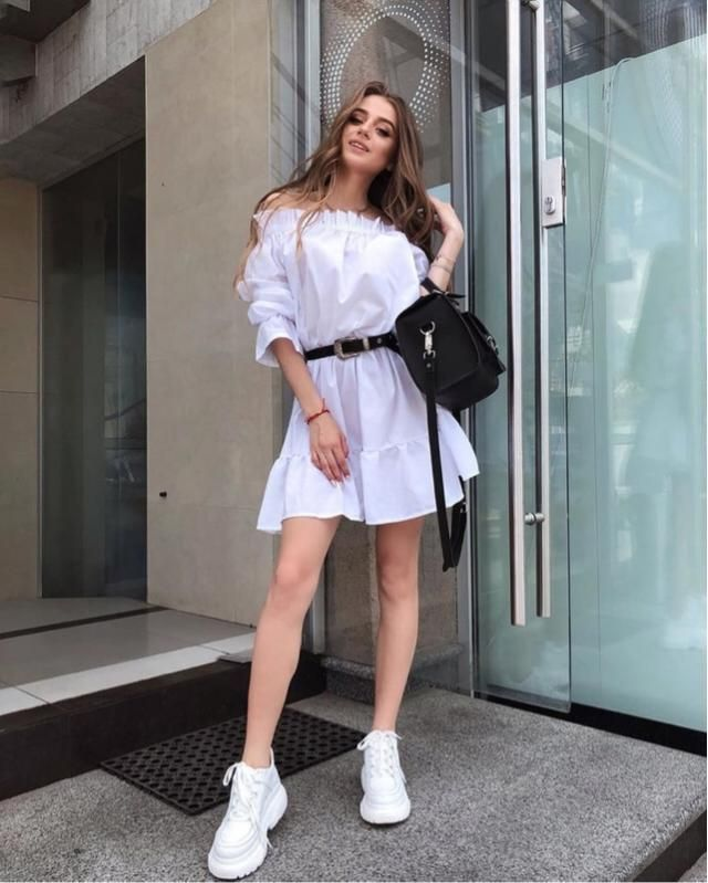 If you are looking for the perfect dress for your vacation I think this off shoulder dress is for you