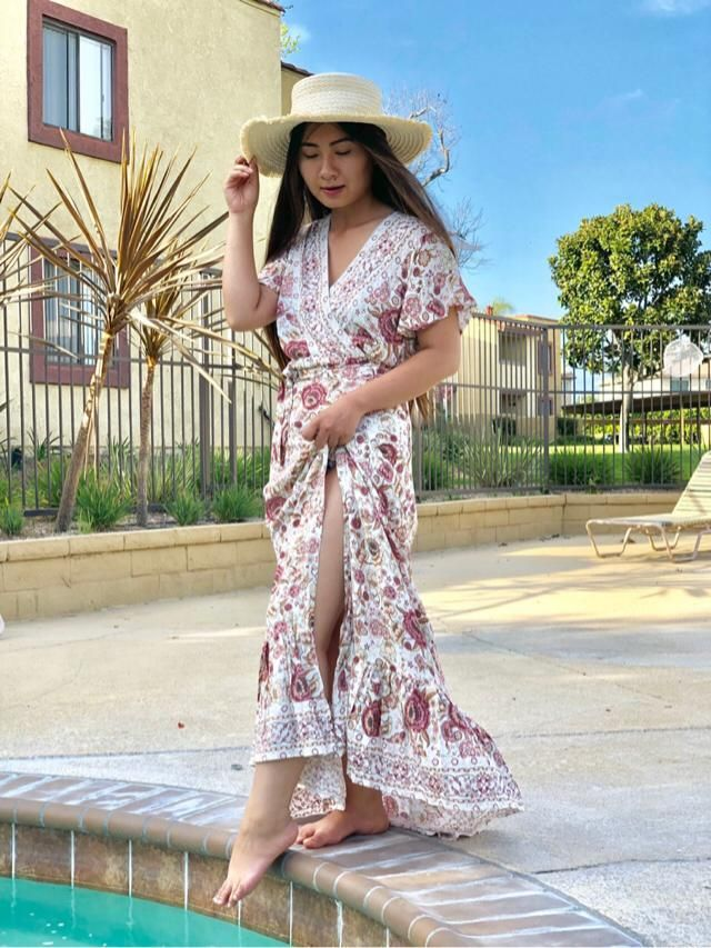 Love             Love this bikini and this maxi dress so much! The gingham print is so cute and the two pieces is…