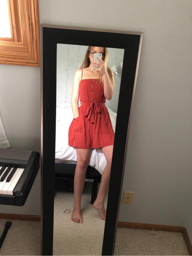 super cute smock dress
