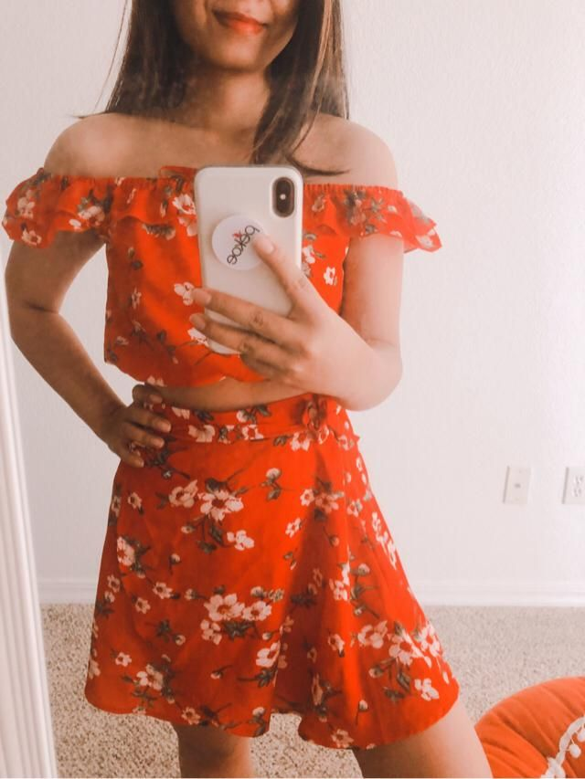 Two Two piece set with floral print is my absolute fav item to pack on vacation! So easy because you do…