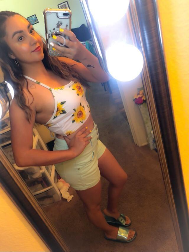 Sunflower bathing suit top