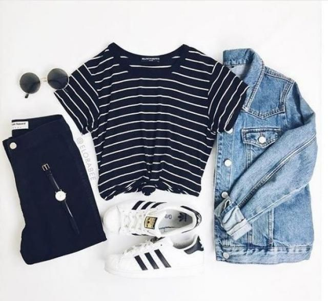 This is great and comfy everyday look.