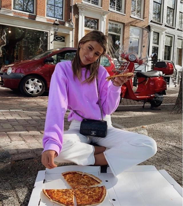 Best thing to do this winter is to go out and have pizza outside