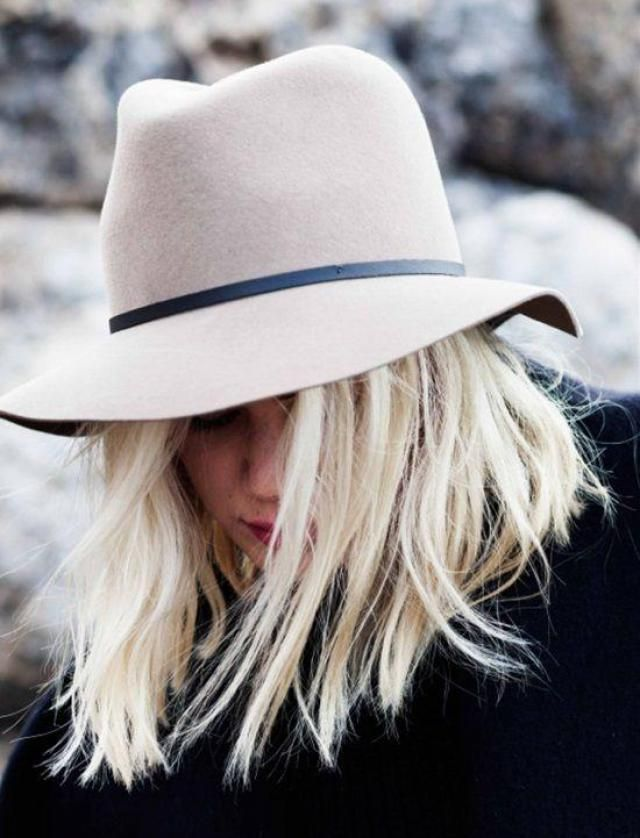 Do you like to wear hats? I think they are super cool to combine with everything! | | |