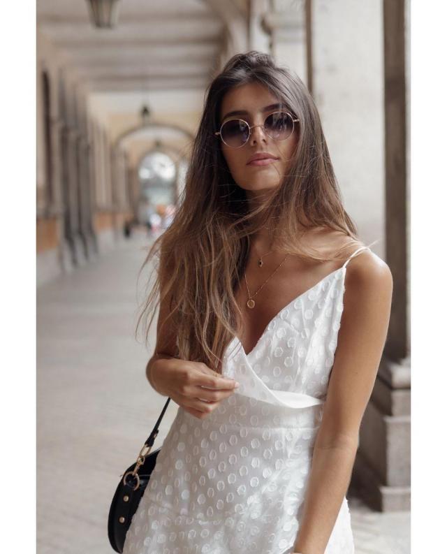 Mini Cami Dress - White ♡ | | |