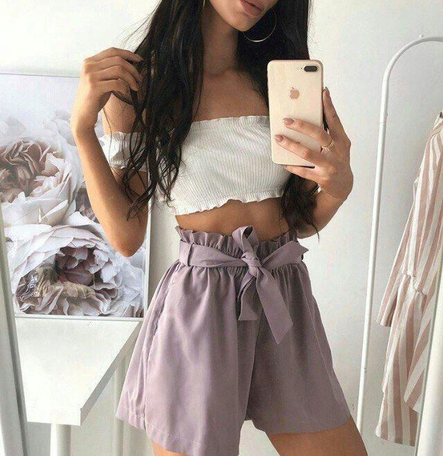 This is a super cute look, you can get a similar one from Zaful