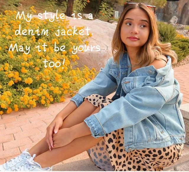 Denim jacket The jean jacket has come a long way from the one your mother bought you in middle school, and if yo…