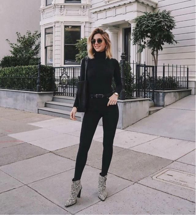 Always a big fan of all black outfit
