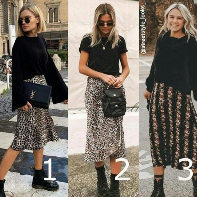 this is a beautiful way to wear leopard print skirts, what do you think about it?