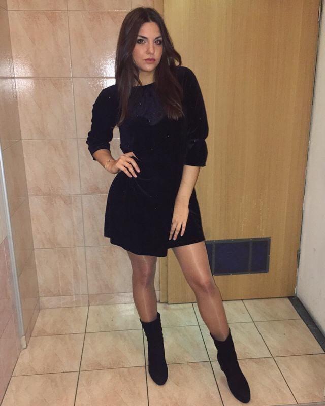 Little black dress is always a good idea