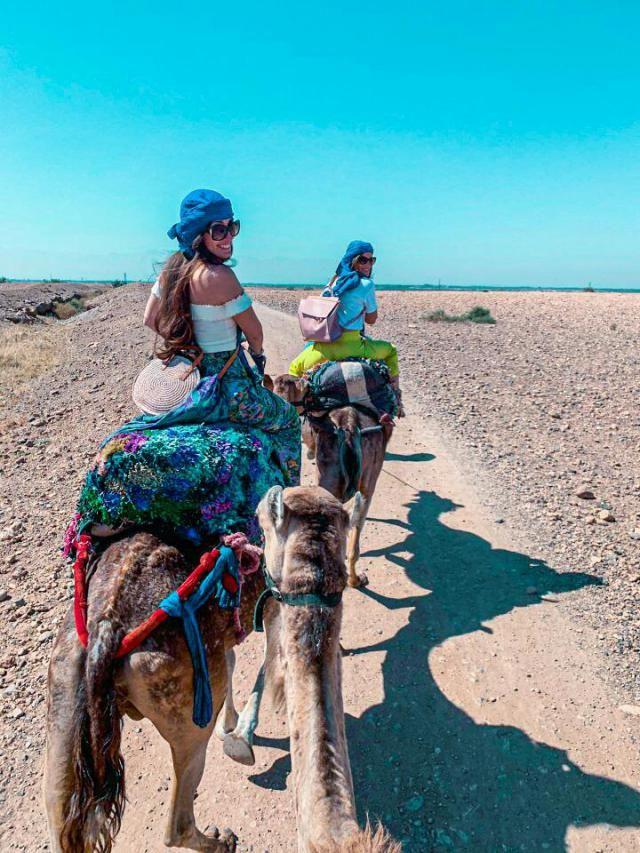 """Una delle cose più caratteristiche da fare in Marocco è il classico """"giro in cammello&…"""