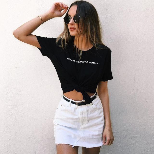 Beautiful white denim skirt!!!❤️❤️