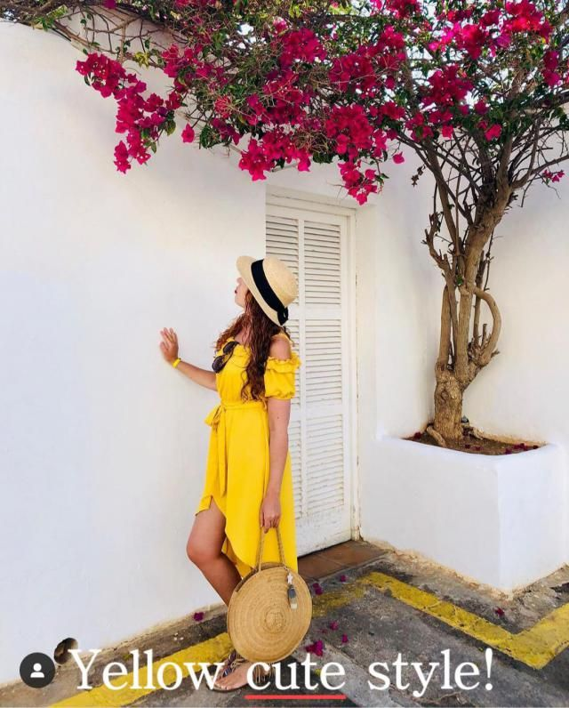 Yellow cute style! The Yellow Dress Trend Best Styles  From the Spring-Summer runways to Oscar's red carpet, yello…
