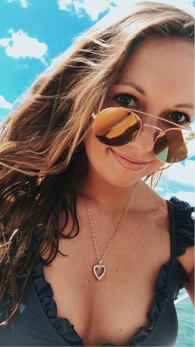 Favorite bikini and sunglasses