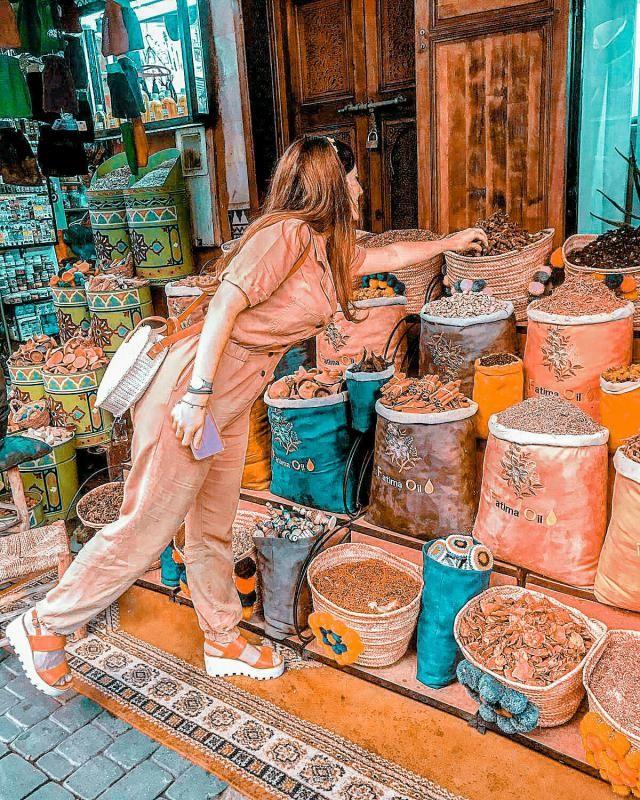 fragranze, spezie, oli...e un pizzico di magie. Marrakech, un'esperienza unica e suggestiva...